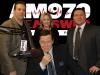 (L-R) Al Gattullo, Debbie DuHaime, Frank Morano and seated Joe Piscopo