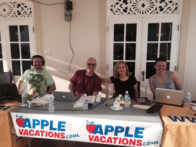 WJRZ broadcasting LIVE from Jamaica